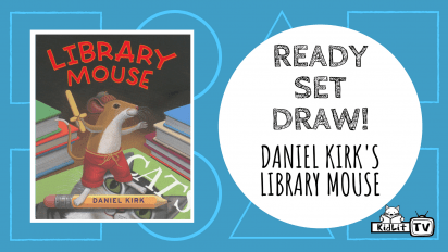 Ready Set Draw | LIBRARY MOUSE and More!