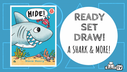 Ready Set Draw! A Shark and More from HIDE!