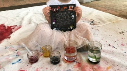 Fun With Colors// At Home Science Experiment