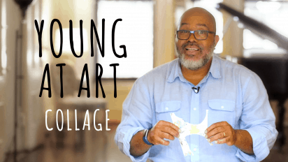 YOUNG AT ART with James Ransome – COLLAGE