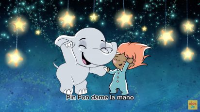 Pin Pon 🐘 Sing-Along Nursery Rhyme