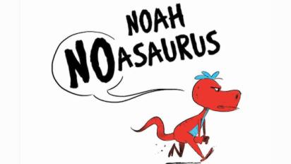 NOAH NOASAURUS Book Trailer