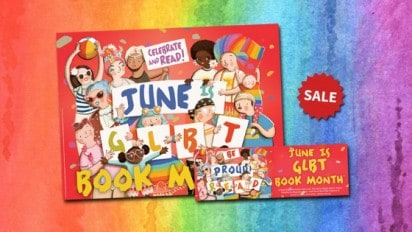 LGBTQ Equality Library Exhibit