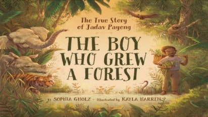 THE BOY WHO GREW A FOREST Book Trailer + Interview