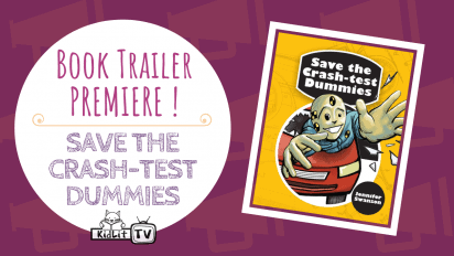 Book Trailer Premiere! SAVE THE CRASH-TEST DUMMIES