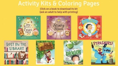 LOST IN THE LIBRARY Activity Kit