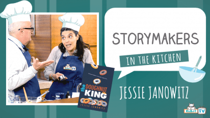 StoryMakers in the Kitchen with Jessie Janowitz THE DOUGHNUT KING