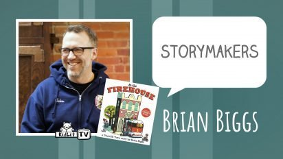 StoryMakers with Brian Biggs AT THE FIREHOUSE