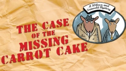 THE CASE OF THE MISSING CARROT CAKE + Carrot Cake Recipe