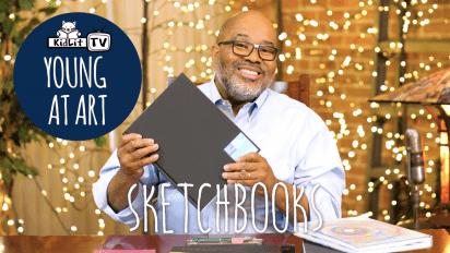 YOUNG AT ART with James Ransome  SKETCHBOOKS