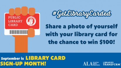 Library Card Sign-up Month 2019