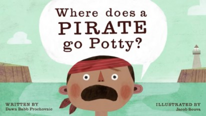 WHERE DOES A PIRATE GO POTTY? Book Trailer