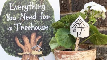 EVERYTHING YOU NEED FOR A TREEHOUSE Book + Craft
