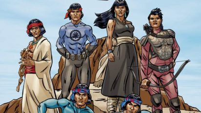 Art Exhibit Showcases Native American Comic Book Heroes