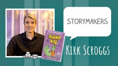 StoryMakers with Kirk Scroggs THE SECRET SPIRAL OF SWAMP KID
