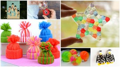 30 Easy Ornament Crafts for Kids That Parents Will Love to Display