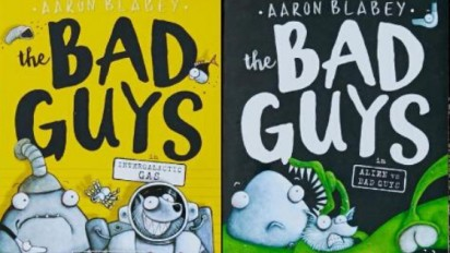 THE BAD GUYS Book Trailer