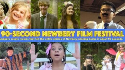 The 90 Second Newbery Film Festival
