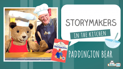 StoryMakers in the Kitchen with Paddington Bear