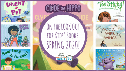On The LOOKOUT for Kids' Books SPRING 2020!