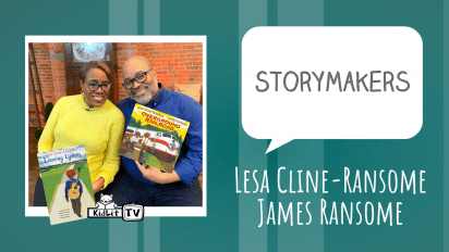 StoryMakers with Lesa Cline-Ransome and James Ransome