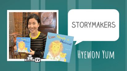 StoryMakers with Hyewon Yum LION NEEDS A HAIRCUT