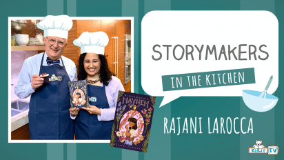 StoryMaker in the Kitchen with Rajani LaRocca MIDSUMMER'S MAYHEM