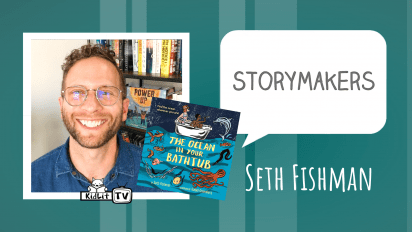 StoryMakers with Seth Fishman THE OCEAN IN OUR BATHTUB