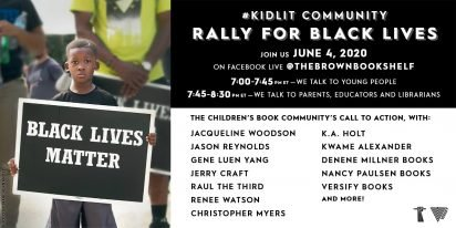 Authors Organize Kid Lit Rally for Black Lives