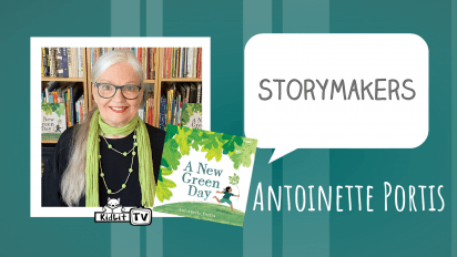 StoryMakers with Antoinette Portis A NEW GREEN DAY