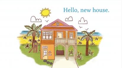 HELLO NEW HOUSE Book Trailer