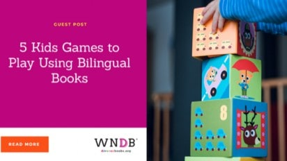 5 Kids Games to Play Using Bilingual Books