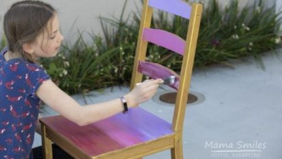 Child Painted Chair Tutorial