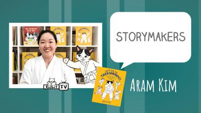 StoryMakers with Aram Kim  LET'S GO TO TAEKWONDO!