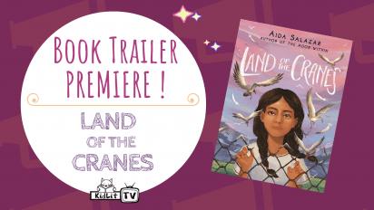 Book Trailer PREMIERE! LAND OF THE CRANES