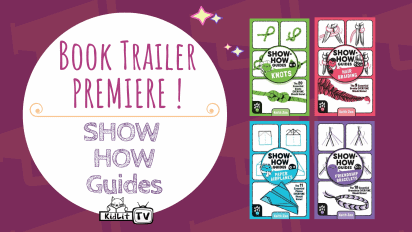 Book Trailer PREMIERE! SHOW-HOW GUIDES