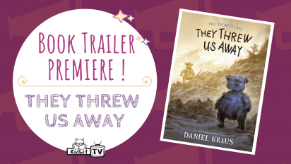 Book Trailer PREMIERE! THEY THREW US AWAY