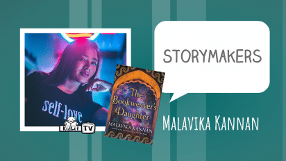 StoryMakers with Malavika Kannan THE BOOKWEAVER'S DAUGHTER