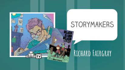 StoryMakers with Richard Fairgray BLACK SAND BEACH