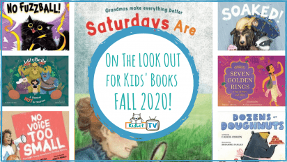 On the LOOKOUT for Kids' Books FALL 2020!
