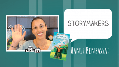 StoryMakers with Hanit Benbassat JAKE'S QUEST FOR THE FIVE STONES
