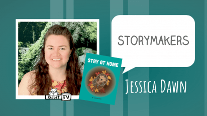 StoryMakers with Jessica Dawn STAY AT HOME
