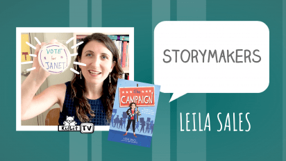 StoryMakers with Leila Sales  THE CAMPAIGN