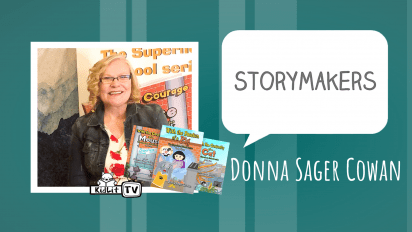 StoryMakers with Donna Sager Cowan WITH THE CURIOSITY OF A CAT