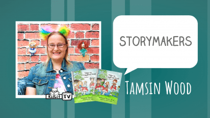 StoryMakers with Tamsin Wood TALES ON CANGLFORD NOCK