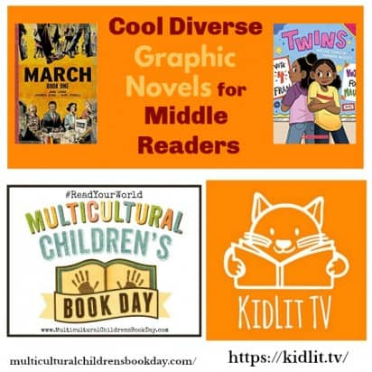 Cool Diverse Graphic Novels for Middle Readers