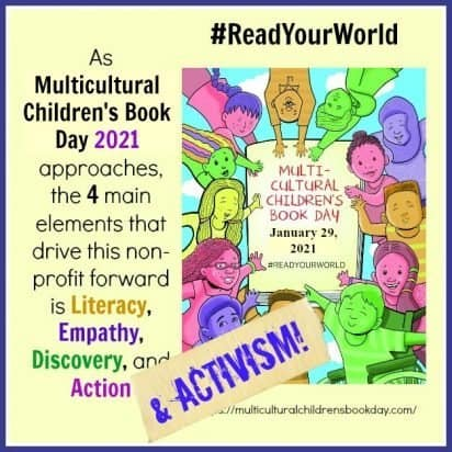 Literacy, Empathy, Discover, Action, and Activism: The Mission of MCBD2021