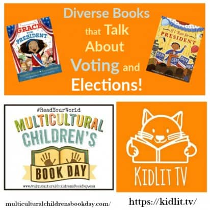 Diverse Books that Talk About Voting and Elections