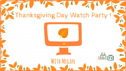Thanksgiving Day Watch Party on KidLit TV