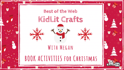 KidLit Crafts & Activities for Christmas!